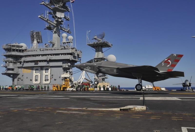USS Nimitz Conducts Training Exercises