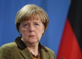 Azerbaijani President Aliyev Meets With Merkel In Berlin