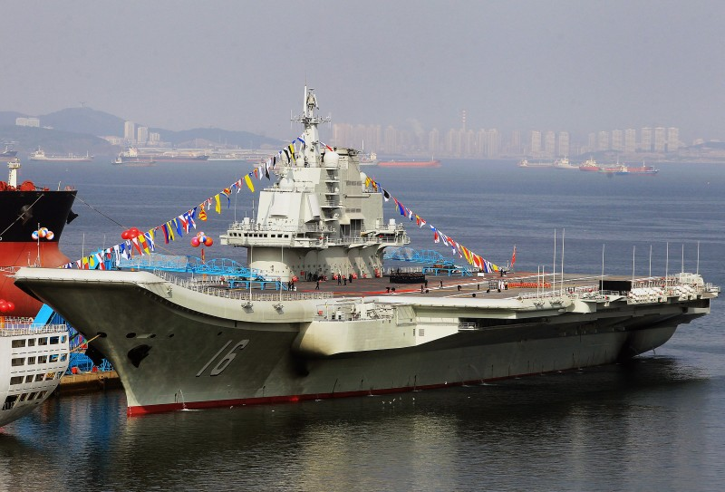 CHINA-DEFENCE-NAVY-CARRIER