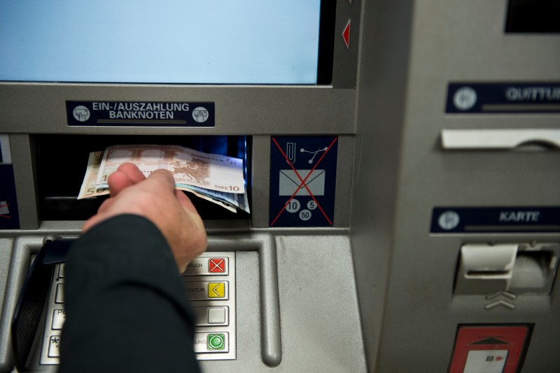 GERMANY-BANKING-CASH-ATM