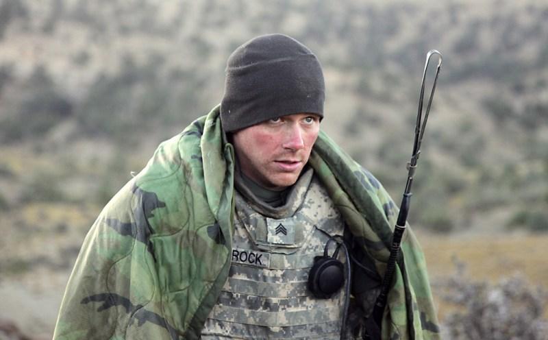 Patrolling in Afghanistan