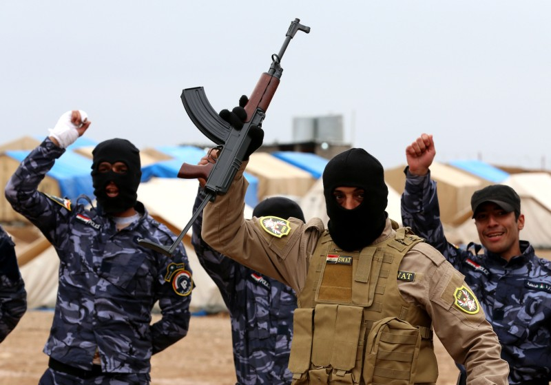 IRAQ-CONFLICT-MILITARY-TRAINING