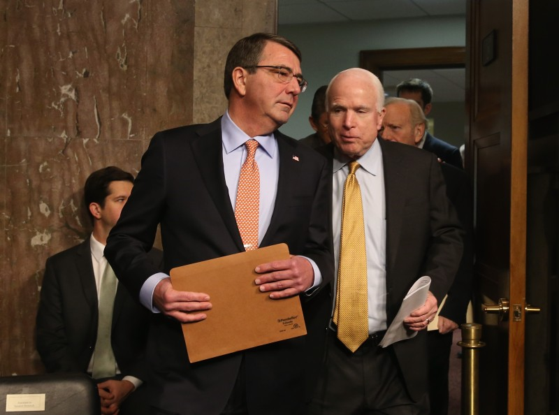 Senate Armed Services Committee Holds Confirmation Hearing For Defense Secretary Nominee Ashton Carter