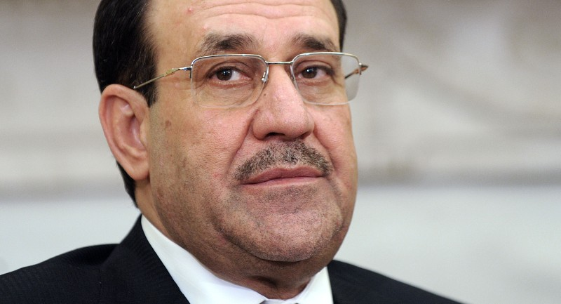 Obama Meets With Iraqi Prime Minister Nouri al-Maliki At White House