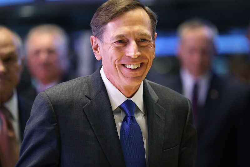 NEW YORK, NY - SEPTEMBER 18: Central Intelligence Agency Director David Petraeus walks the floor of the New York Stock Exchange to ring the Opening Bell as the CIA Commemorates it's 65th Anniversary on September 18, 2012 in New York City. Stocks fell in early trading as investors continued to be concerned about Europe and the global economy.  (Photo by Spencer Platt/Getty Images)