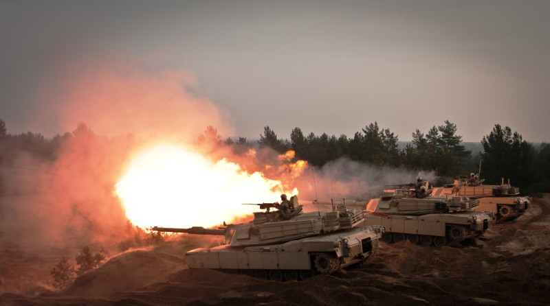 Tank rounds in Latvia