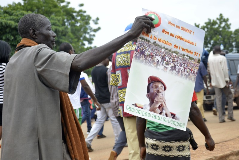 BURKINA-POLITICS-OPPOSITION-DEMO