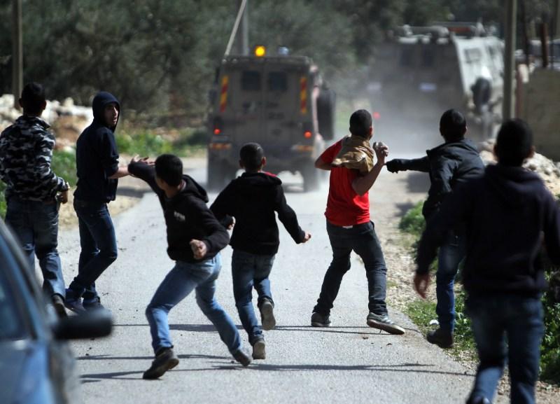 PALESTINIAN-ISRAEL-CONFLICT-VANDALISM