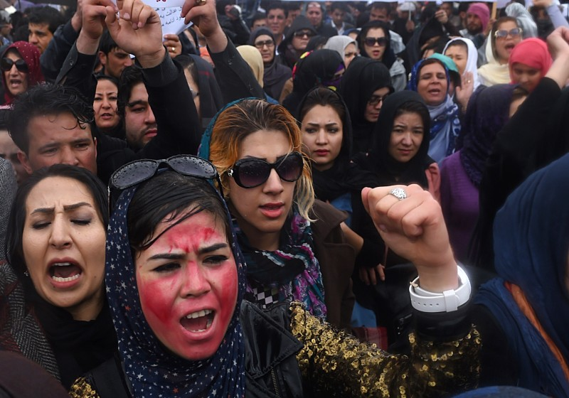AFGHANISTAN-UNREST-WOMEN-RELIGION