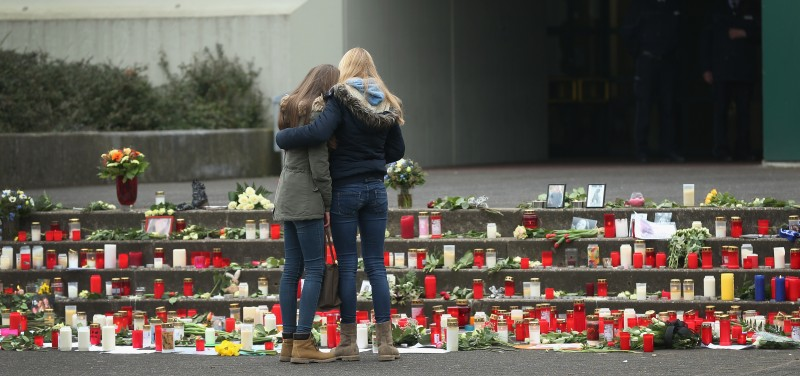 Germany Mourns The Death Of Those Who Died On The Germanwings Airbus