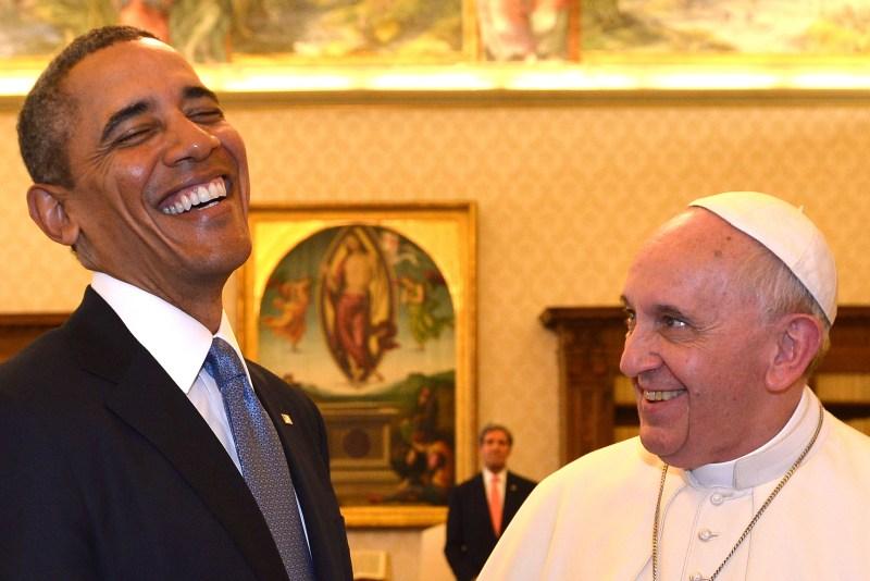 VATICAN-US-POPE-OBAMA