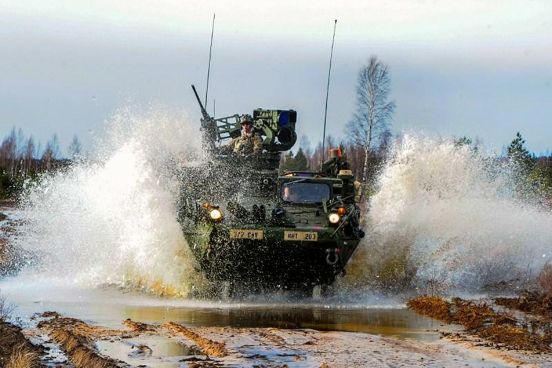 Operation Atlantic Resolve, Latvia