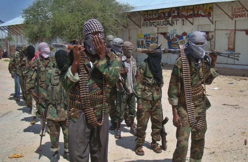 Al-Qaeda linked al-shabab recruits walk