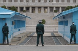 Border City Of Panmunjom Remains High Alert