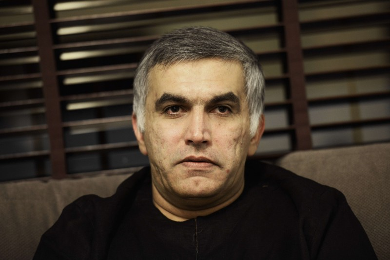 BAHRAIN-POLITICS-UNREST-RIGHTS-TRIAL-RAJAB