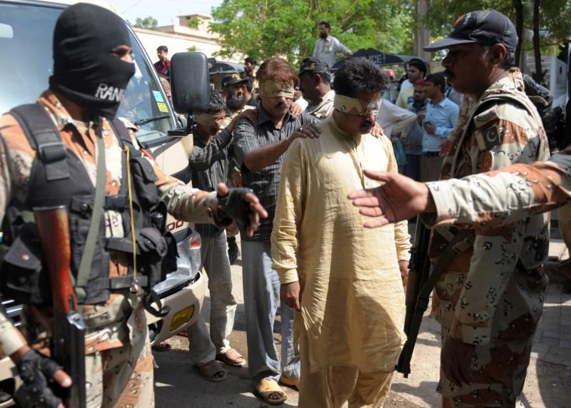 PAKISTAN-UNREST-POLITICS-RAID-MQM
