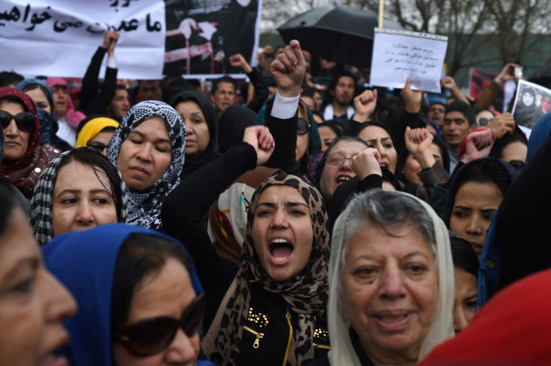 AFGHANISTAN-UNREST-WOMEN-RELIGION