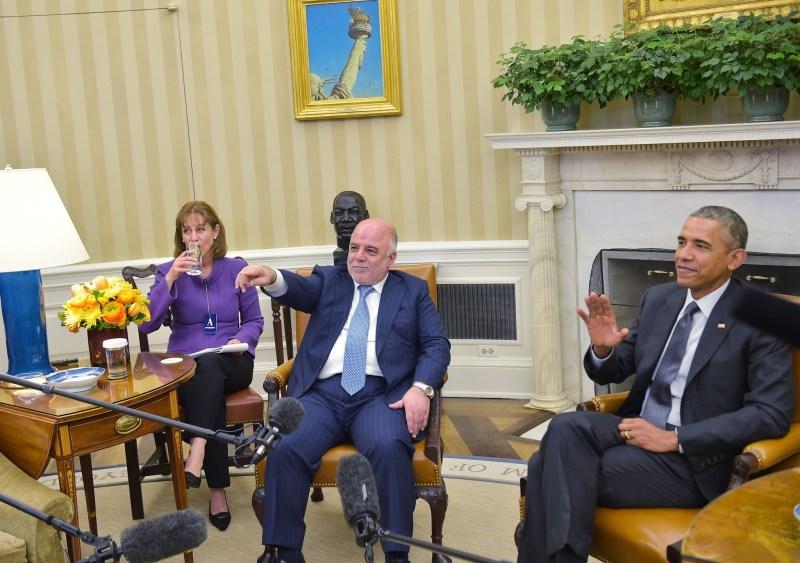 US-IRAQ-CONFLICT-DIPLOMACY-OBAMA-ABADI