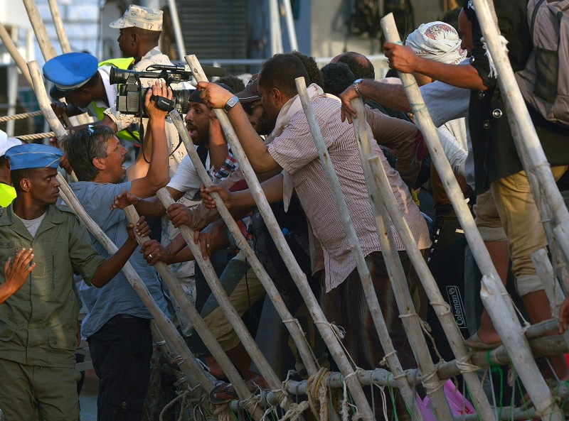 YEMEN-DJIBOUTI-US-CONFLICT-REFUGEES