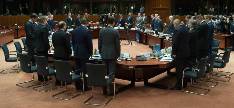 BELGIUM BRUSSELS EXTRAORDINARY EU SUMMIT