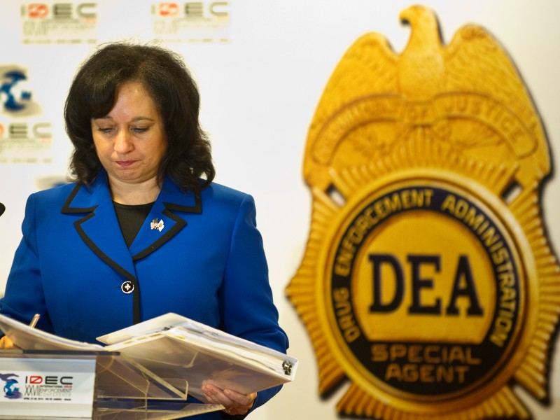 US Deputy administrator of the US Drug E