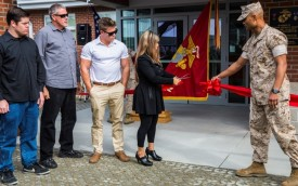 Military kennel building named in honor of Sgt. Joshua R. Ashley