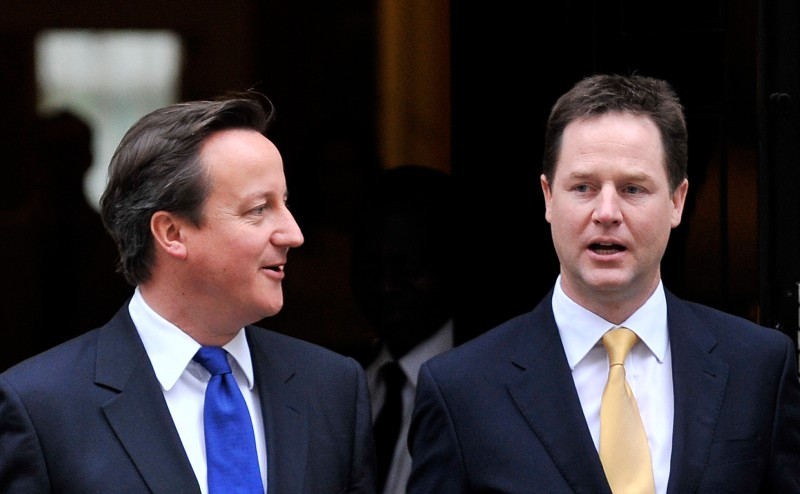Nick Clegg and David Cameron will speak together to stress their commitment to their coalition government.