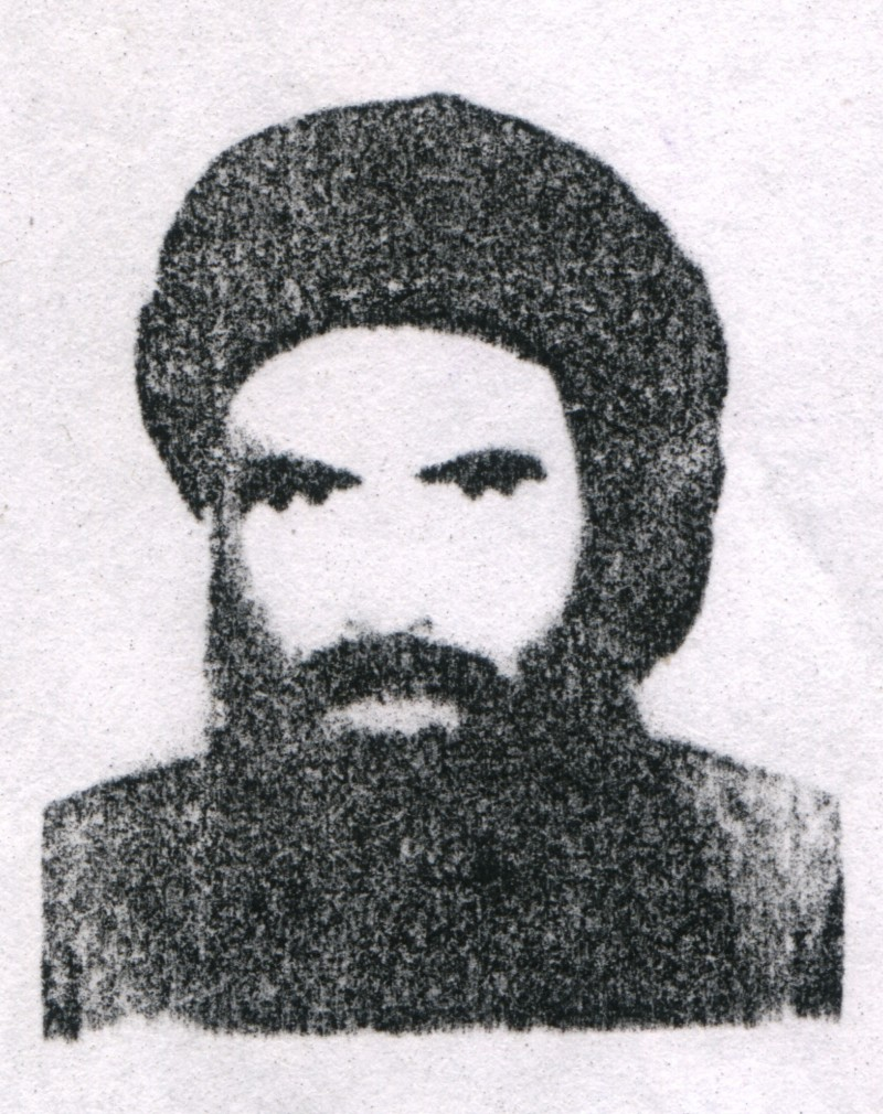 395454 01: (UNDATED PHOTO) Mullah Omar, chief of the Taliban, is shown in this headshot photo. Military forces from the United States and Britain have begun attacking targets October 7, 2001 in Afghanistan. (Photo by Getty Images)