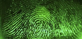 SYDNEY, NSW - AUGUST 11:  A fingerprint is scanned at Argus Soloutions August 11, 2005 in Sydney, Australia. The Australian Federal Government are considering including biometric data such as fingerprints, iris scans, or facial recognition on a national identity card in a bid to combat fraud, illegal immigration and terrorism. Details of individuals' biometrics would be stored on the card in an algorithmic code to prevent identity theft.   (Photo by Ian Waldie/Getty Images)