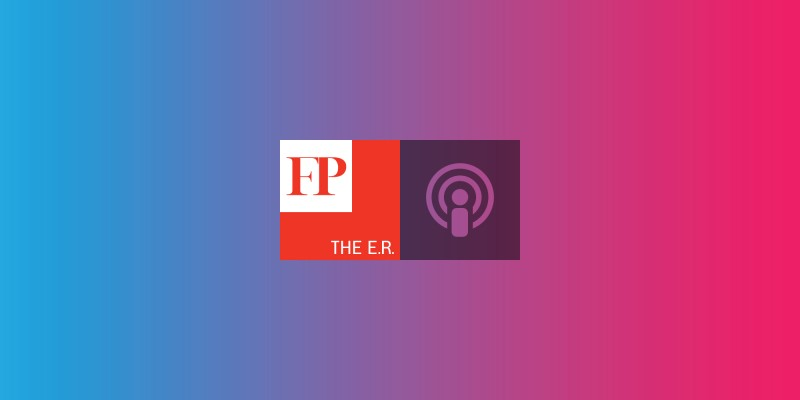 "On this episode of The E.R., Max Boot joins us to discuss his new book ""The Road Not Taken."""