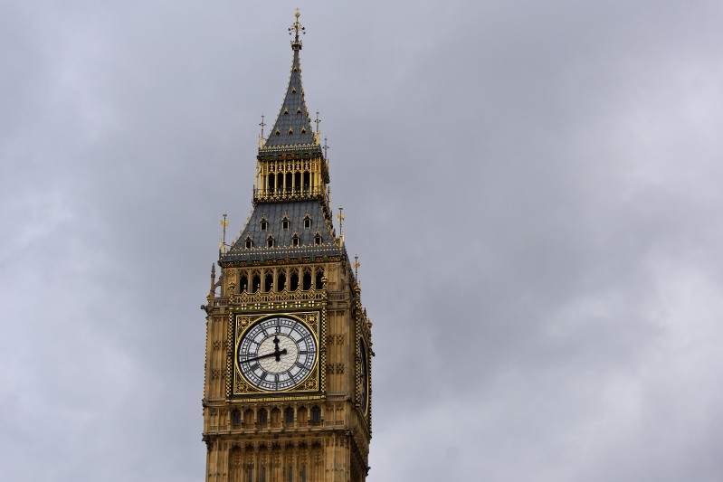 LONDON, ENGLAND - DECEMBER 02: A general view of Big Ben on December 2, 2015 in London, England. British MPs are expected to vote tonight on whether to back UK airstrikes on Islamic State targets in Syria following a 10-hour long debate.  (Photo by Ben Pruchnie/Getty Images)