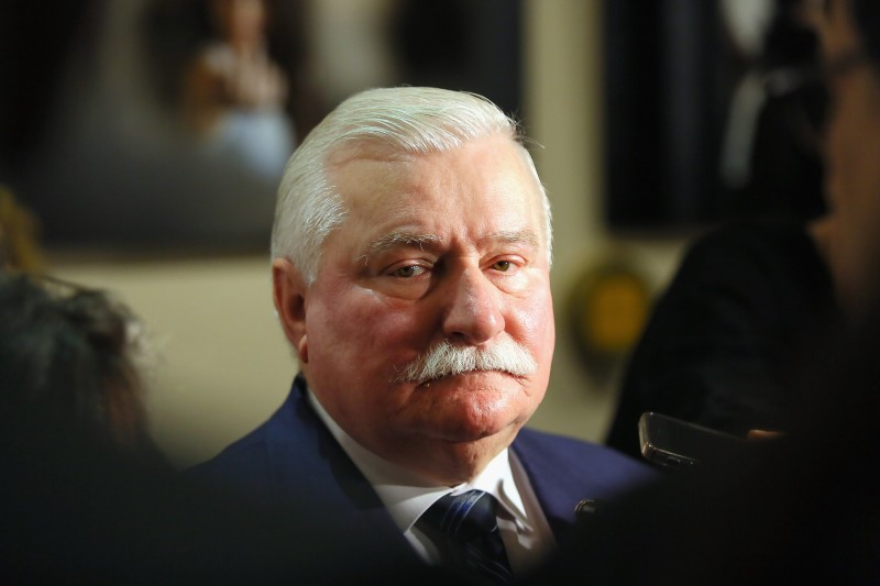 ROME, ITALY - JUNE 05:  Lech Walesa attends the 'Walesa. Man Of Hope' photocall at Sofitel Hotel on June 5, 2014 in Rome, Italy.  (Photo by Ernesto Ruscio/Getty Images)