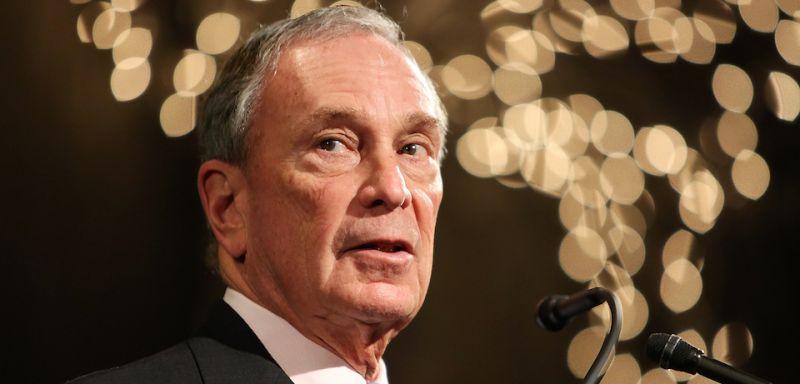 Michael Bloomberg speaks at Urban Zen in New York on Feb. 10, 2015.
