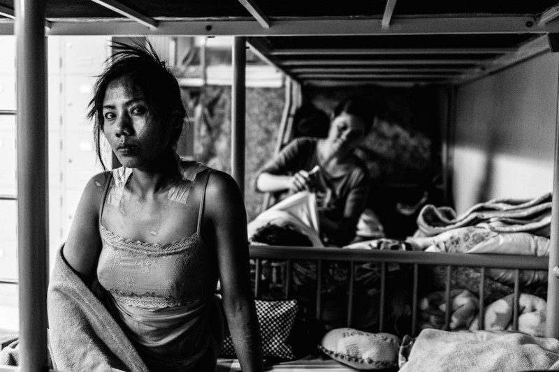 Shirley  Dalisay is an abused domestic helper in Hong Kong. She is one of the many helpers that suffer from human rights abuse from their employers but never made the news. Bethune House Shelter,Hong Kong July 02 2014