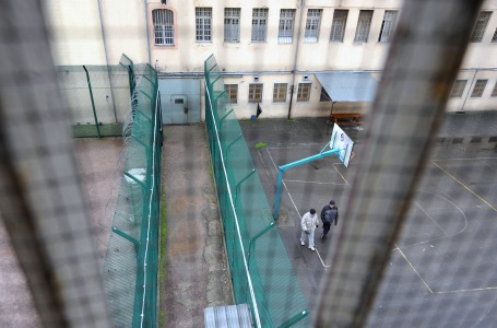 View of the courtyard and buildings in the prison of Ensisheim, eastern France, on December 12, 2009 during a visit of a French official. AFP PHOTO JOHANNA LEGUERRE (Photo credit should read JOHANNA LEGUERRE/AFP/Getty Images)