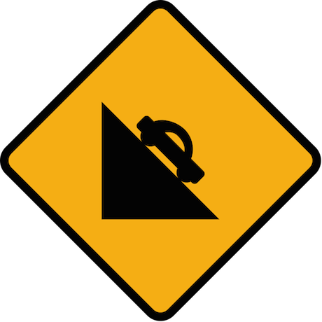 Diamond_road_sign_steep_decline.svg
