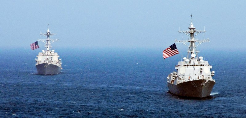 South China Sea JOHN J. MIKE_USN_Getty