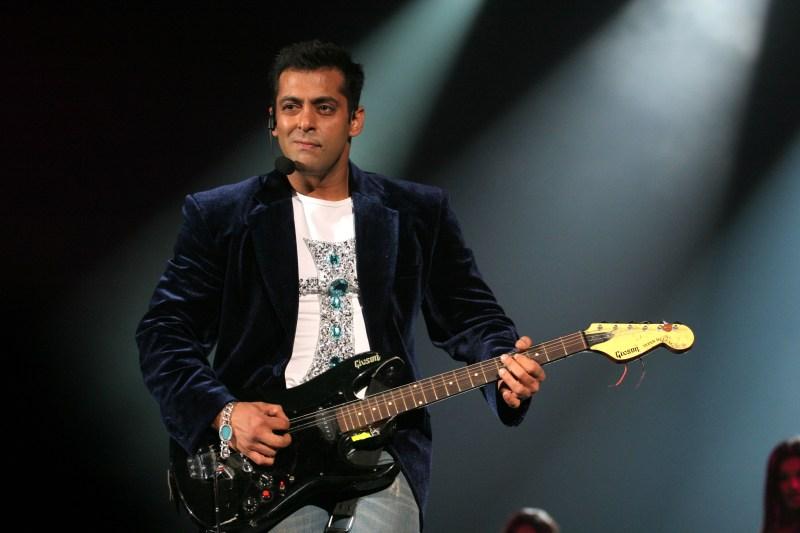 Salman Khan during Bollywood Rock Stars at Nassau Coliseium - May  22, 2006 at Nassau Coliseium in Hempstead, New York, United States. (Photo by Mychal Watts/WireImage)