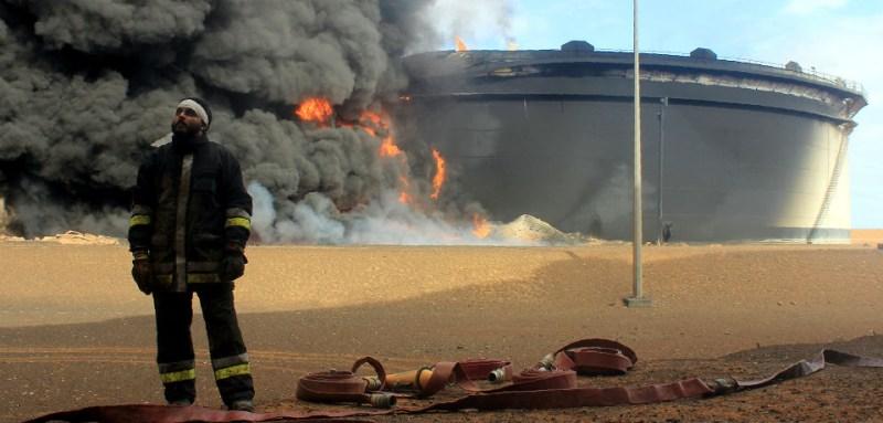 LIBYAFire