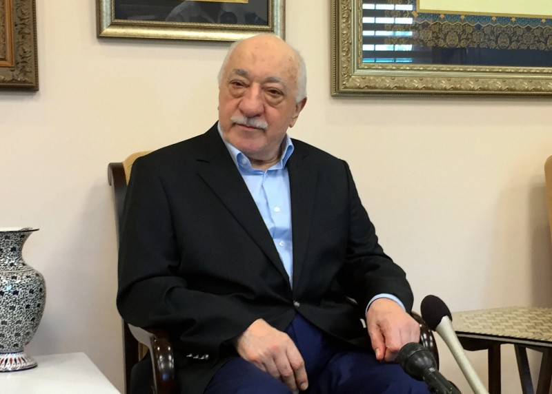 SAYLORSBURG, PA - JULY 17:  (CHINA OUT, SOUTH KOREA OUT) Turkish Preacher Fethullah Gulen speaks during a group interview on July 17, 2016 in Saylorsburg, Pennsylvania. Gulen has been accused by Turkish President Recep Tayyip Erdogan that he is behind the foiled military coup attempt.  (Photo by The Asahi Shimbun via Getty Images)