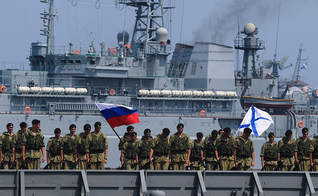 SitRep: Russia Massing Forces Near Ukraine as Putin Lands in Crimea –  Foreign Policy