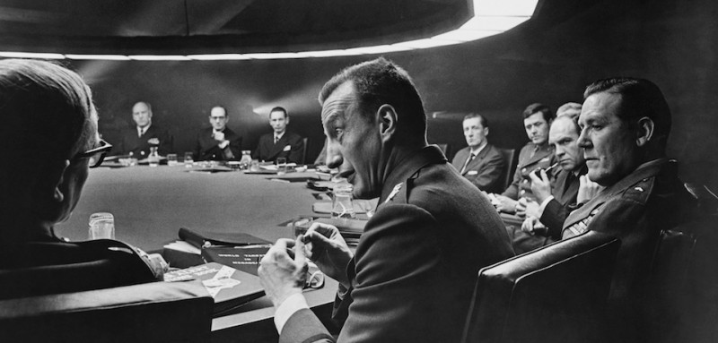 (Original Caption) George C. Scott is shown in Dr. Strangelove. (Photo by �� John Springer Collection/CORBIS/Corbis via Getty Images)