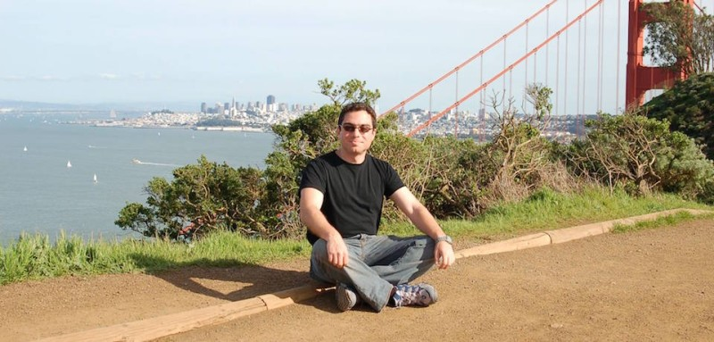 Siamak Namazi, an Iranian-American imprisoned in Iran since 2015, on a visit to San Francisco in 2006. (Free Siamak and Baquer Namazi Facebook)
