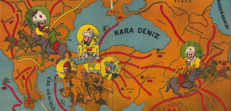 Turkey's New Maps Are Reclaiming the Ottoman Empire
