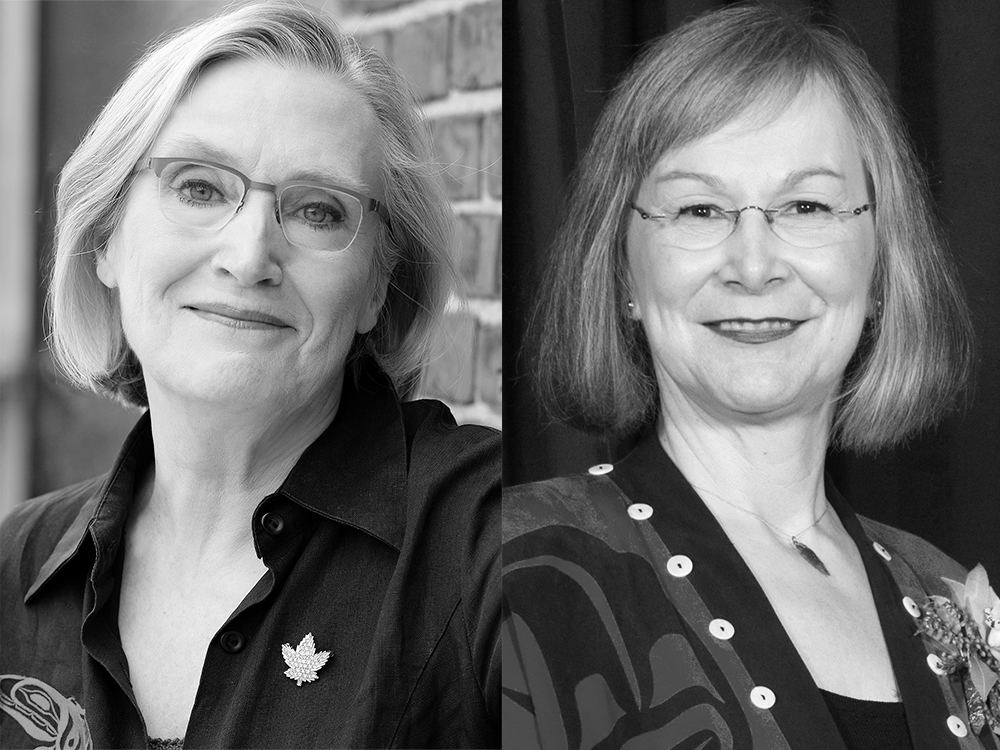 Carolyn Bennett and Marion Buller