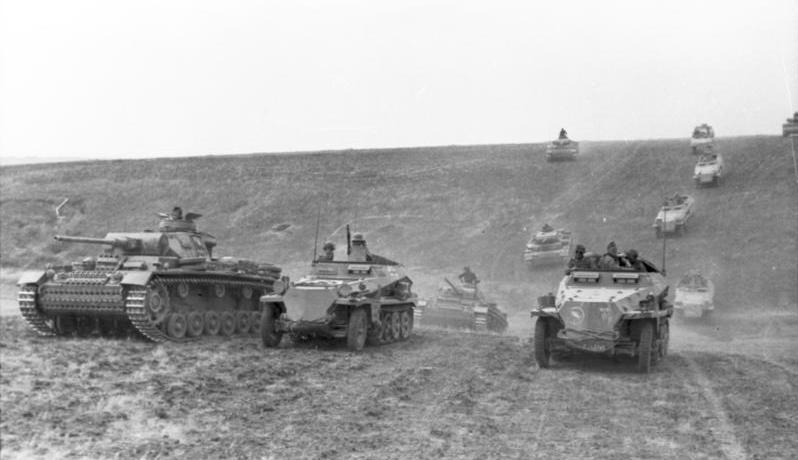 Russland-S¸d, Panzer III, Sch¸tzenpanzer, 23.Pz.Div.