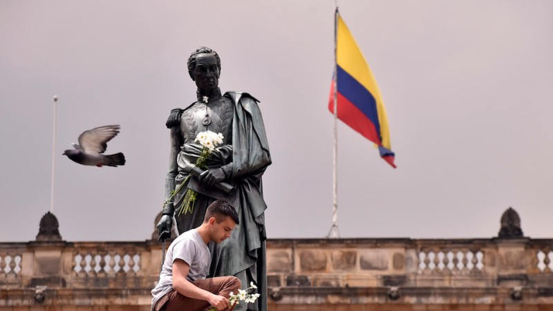 COLOMBIA-NOBEL-PEACE-SANTOS-CELEBRATIONS