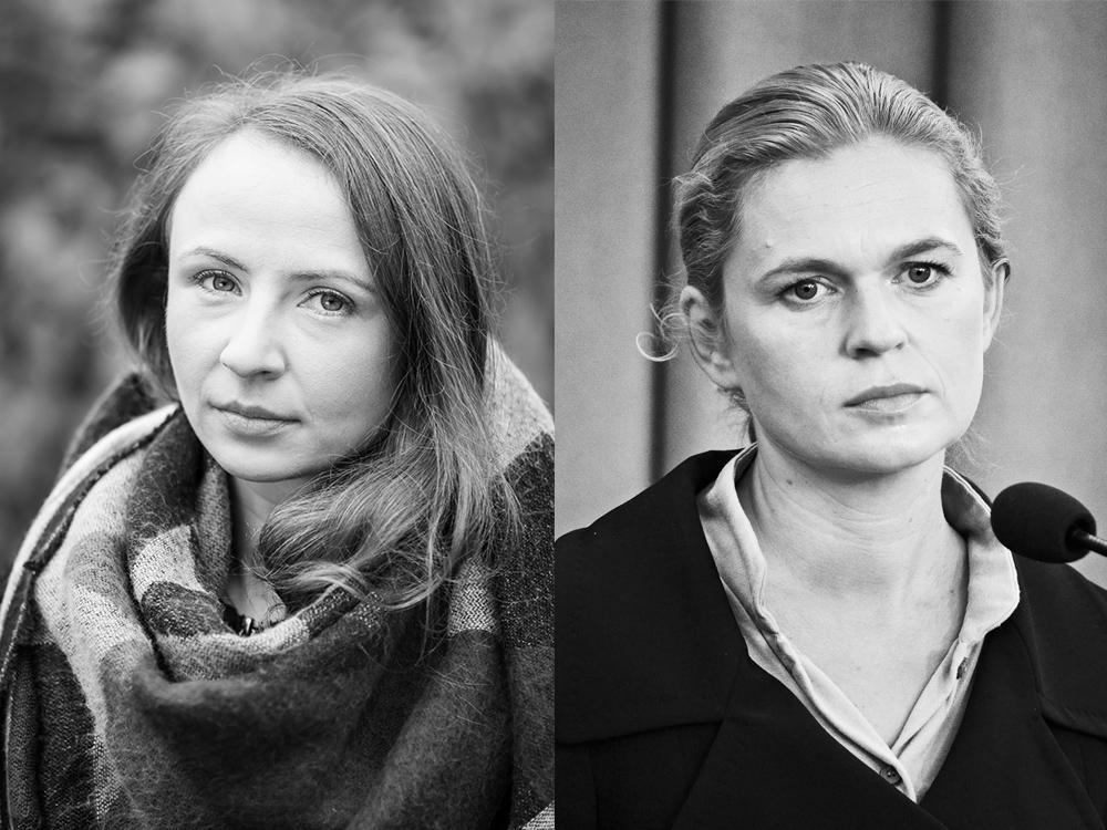 Agnieszka Dziemianowicz-Bak and Barbara Nowacka