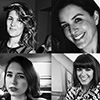 Lliana Bird, Dani Lawrence, Josie Naughton, and Dawn O'Porter