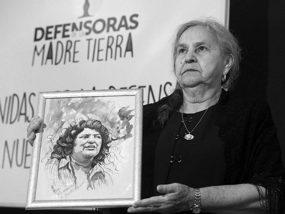 Berta Cáceres and Austra Flores